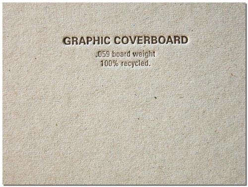 Graphic Coverboard Stock