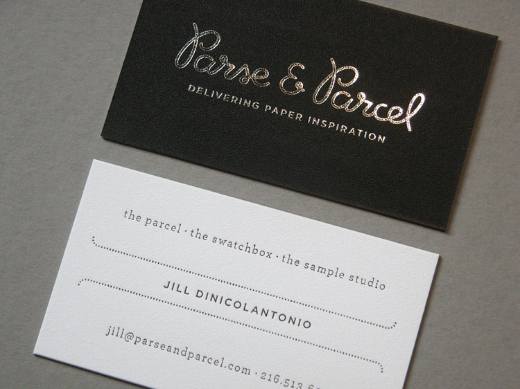 Parse and Parcel Business Card
