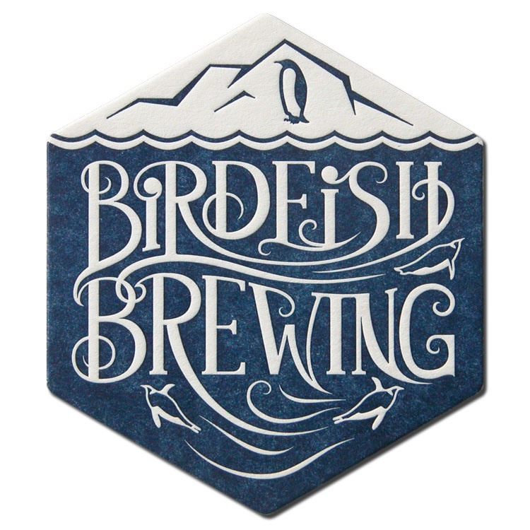 Birdfish Brewing Coaster