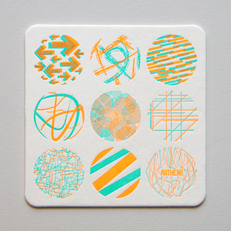 Anthem Coasters - Chaos