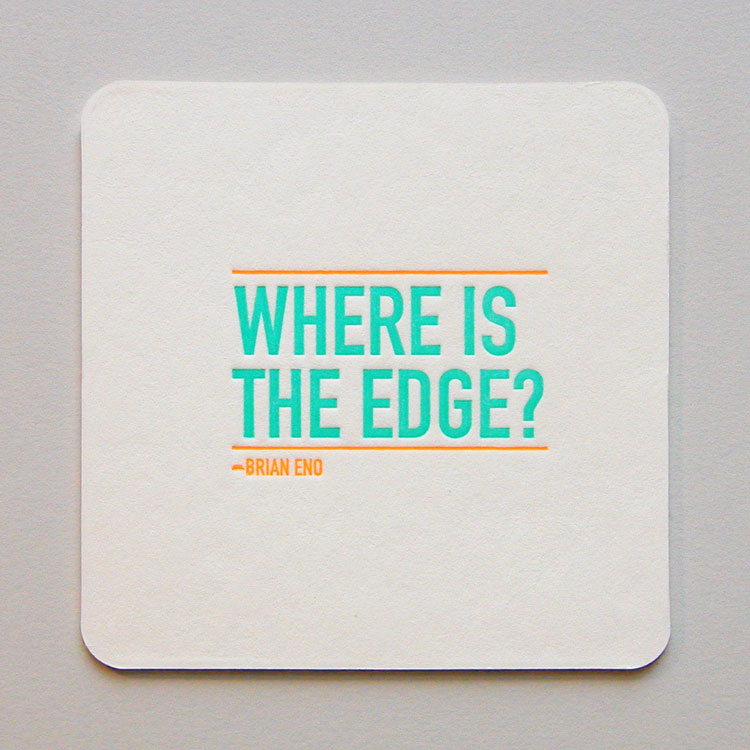 Anthem Coasters - Edge Back
