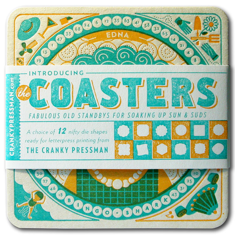 Coasters Set with Band