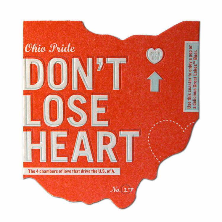 Don't Lose Heart Coaster