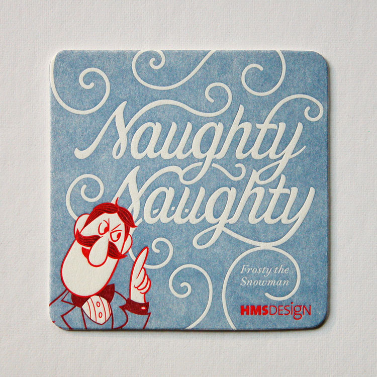 "HMS Design Coasters ""Frosty"""