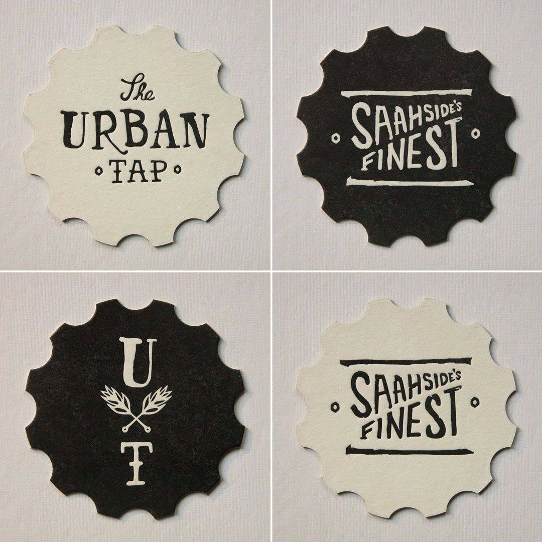 Urban Tap Coasters - Set of 4