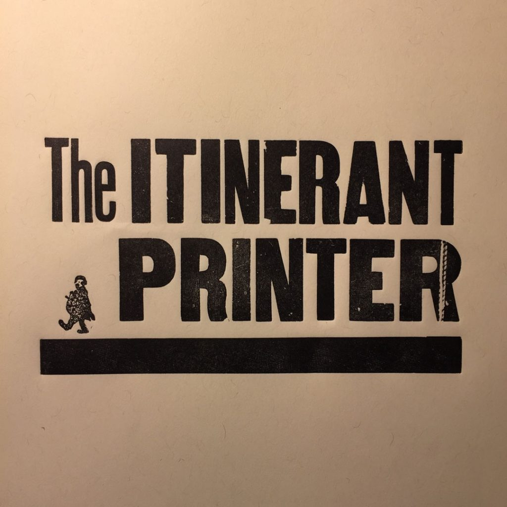 Cranky Event with Itinerant Printer